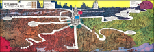 Pictorial Maps Map By Psychology Today