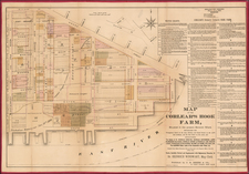 New York City Map By J.B. Beers