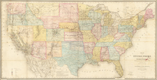 Map of the United States and Territories, Showing the extent of Public Surveys and other Details.  Constructed From the Plats and official sources of the General Land Office . . . 1867 By U.S. General Land Office