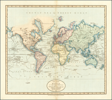 World Map By John Cary
