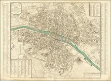 Paris Map By C.J.  Chaumier