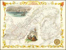 East Canada and New Brunswick By John Tallis