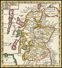 Scotland Map By Robert Morden