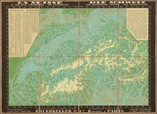 Switzerland Map By Bauerkeller & Cie.