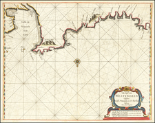 Venezuela Map By Arent Roggeveen / Jacobus Robijn