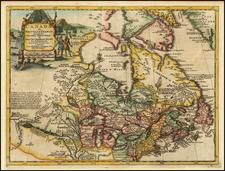 Canada ou Nouvelle France Suivant les Nouvelles Observations By Pieter van der Aa