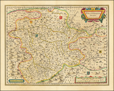 Germany Map By Willem Janszoon Blaeu