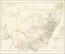 Australia Map By John Arrowsmith