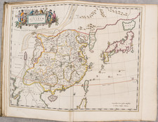 China, Japan, Korea and Atlases Map By Johannes Blaeu / Martinus Martini