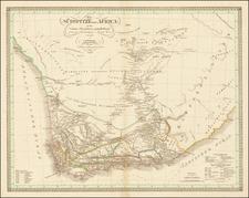 South America Map By Carl Ferdinand Weiland