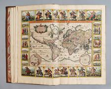 Atlases Map By Nicolaes Visscher I / Nicolaes Visscher II