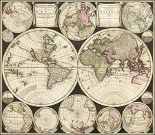 World Map By Carel Allard