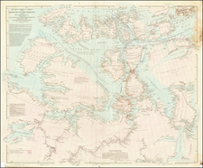 Polar Maps and Canada Map By John Arrowsmith