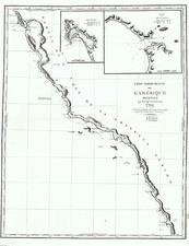 Baja California and California Map By Capt. George Vancouver