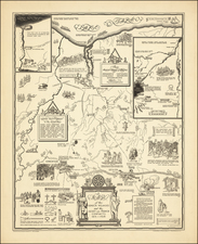 A Map of the Seneca Villages and the Jesuit and French Contacts 1615-1708   By Helen M. Erickson / Alexander McGinn Stewart