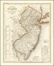 New Jersey Map By Joseph Meyer