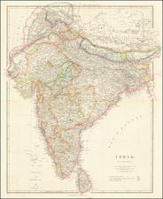 India Map By John Arrowsmith