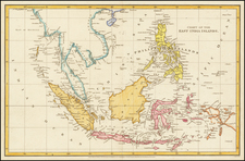 Southeast Asia, Philippines, Indonesia and Malaysia Map By Aaron Arrowsmith
