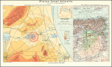 North Africa Map By Justus Perthes  &  Paul Borchardt