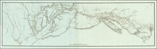 New England, Connecticut, New York State, Mid-Atlantic, New Jersey, Pennsylvania, Maryland, Southeast, Virginia and American Revolution Map By Henri Soules