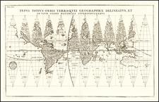 World Map By Heinrich Scherer