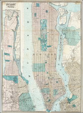 New York City Map By Matthew Dripps