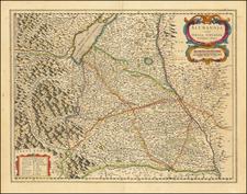 Süddeutschland Map By Willem Janszoon Blaeu