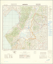 Middle East and World War II Map By General Staff of the German Army
