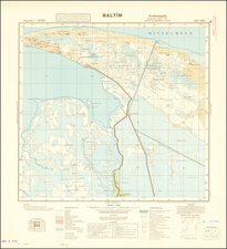 Egypt and World War II Map By General Staff of the German Army