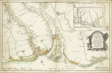 Guianas & Suriname Map By Friedrich von Bouchenroeder  &  Jacob Turpin