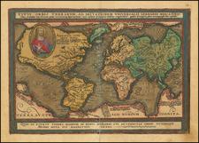 World and World Map By Matthias Quad / Johann Bussemachaer
