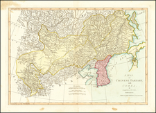 A Map of Chinese Tartary, with Corea . . . By Samuel Dunn