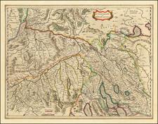 Switzerland Map By Willem Janszoon Blaeu