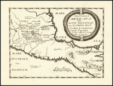 Mexico and Central America Map By Augustin Lubin