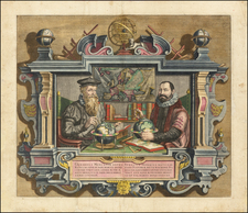 Gerardus Mercator . . . [and] . . . Iudocus Hondius . . .  By Coletta Hondius