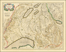 Switzerland Map By Willem Janszoon Blaeu