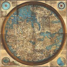 World Map By Carlo Naya
