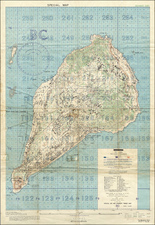 Japan, Other Pacific Islands and World War II Map By Intelligence Section, Amphibious Forces Pacific