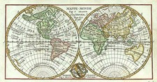 World, World, Curiosities and Celestial Maps Map By Anonymous