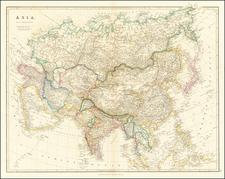 Asia Map By John Arrowsmith