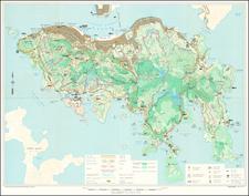 Hong Kong Map By Crown Lands & Survey Office Hong Kong