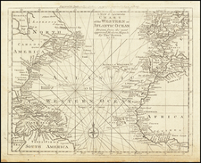 Atlantic Ocean Map By Thomas Bowen