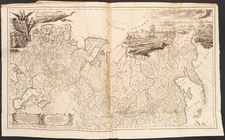 Russia, Russia in Asia and Atlases Map By Joseph Nicholas de L'Isle