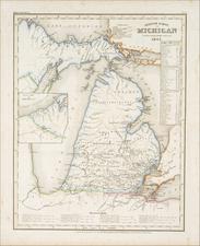 Michigan Map By Joseph Meyer