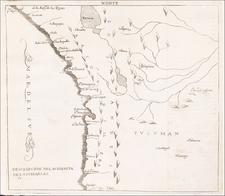 Chile, Paraguay & Bolivia and Peru & Ecuador Map By Antonio de Herrera y Tordesillas