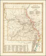 Missouri Map By Joseph Meyer