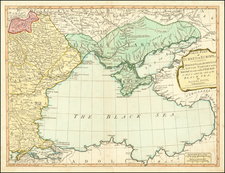 Ukraine, Romania, Balkans and Turkey Map By Samuel Dunn