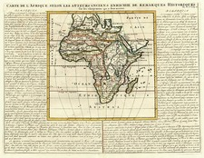 Africa and Africa Map By Henri Chatelain