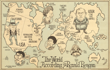 World, United States and Pictorial Maps Map By David Horsey