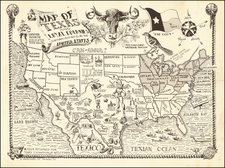 Texas Map By Jones